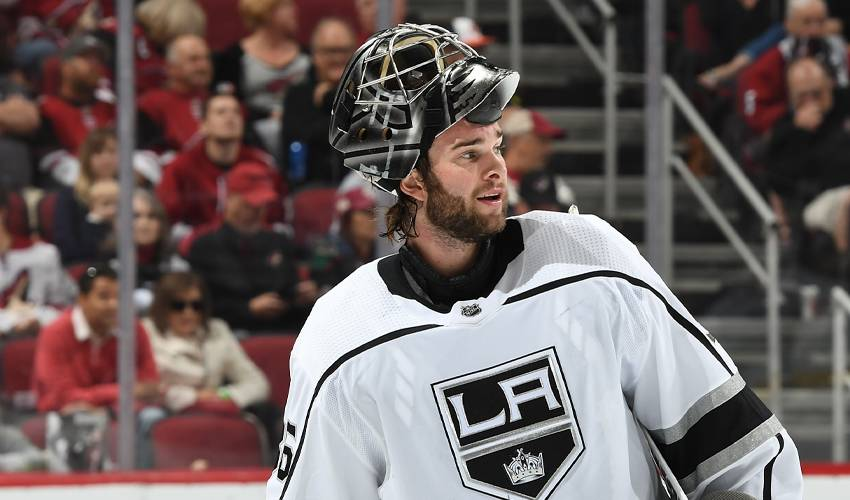 LA Kings sign goalie Jack Campbell to 2-year extension