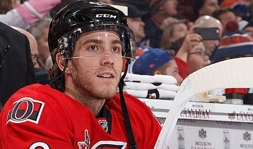 Mike Hoffman shares special bond with his father