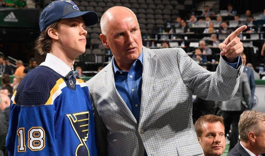 St. Louis Blues GM Doug Armstrong gets same role for Canadian men's Olympic team