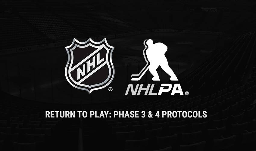 NHL issues update on phased return to sport protocol