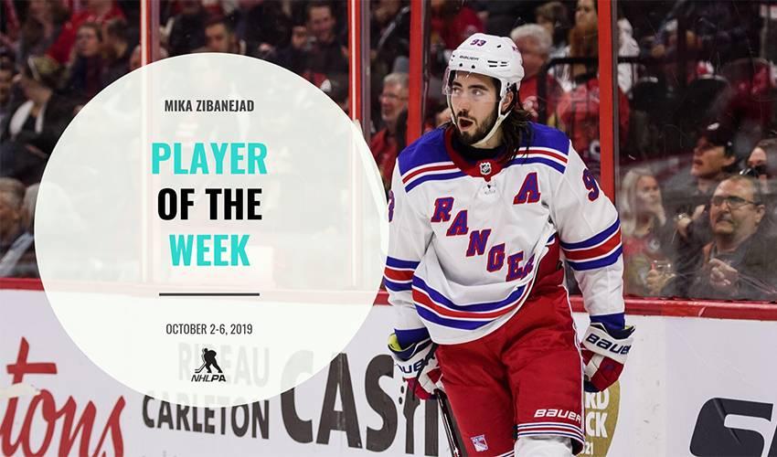 Player of the Week | Mika Zibanejad