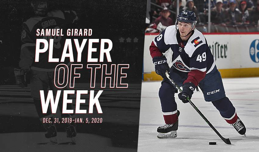 Player of the Week | Samuel Girard