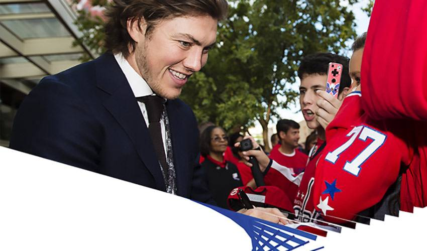 Visa Presents: Q&A with T.J. Oshie