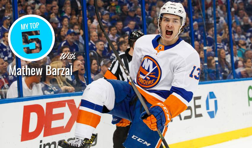 My Top 5 | Mathew Barzal