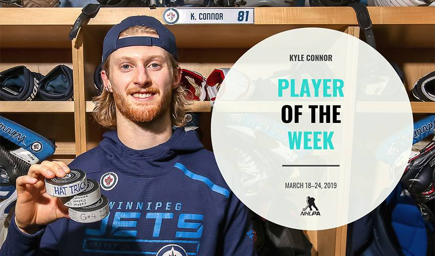 Player of the Week | Kyle Connor