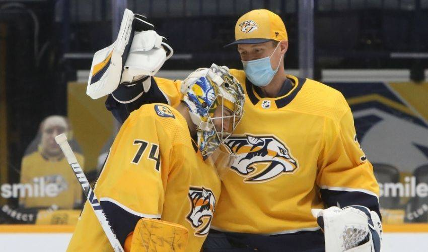 Juuse Saros on a summer of firsts and Pekka Rinne's impact