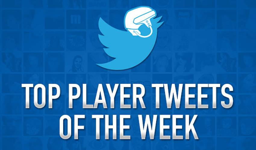 Top Player Tweets of the Week - October 29th - November 5th