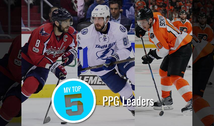 My Top 5 | PPG Leaders