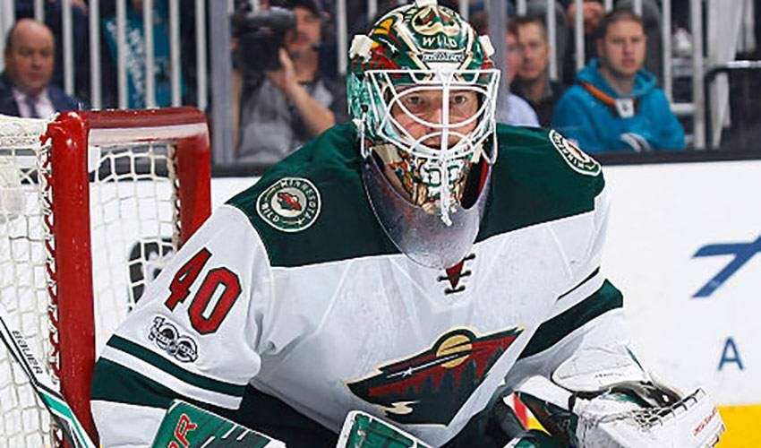 All-Star Dubnyk Delivers for Wild