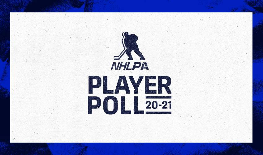 2020-21 NHLPA Player Poll results to be revealed tomorrow