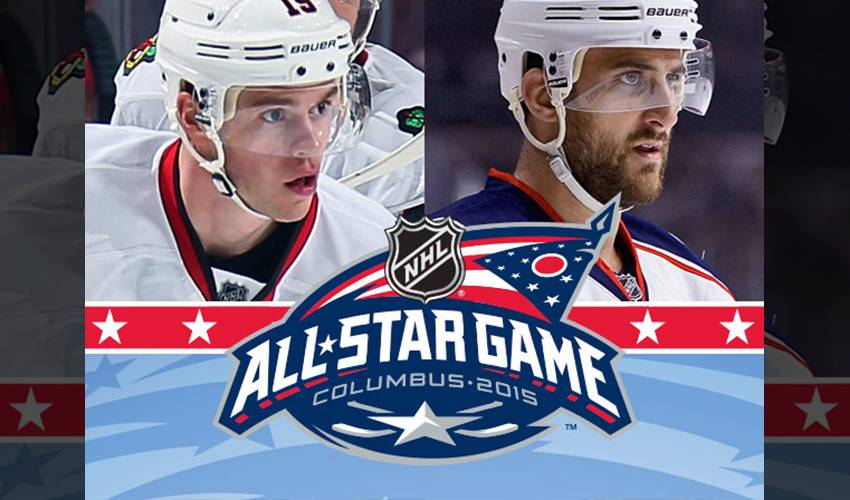 NICK FOLIGNO, JONATHAN TOEWS NAMED CAPTAINS FOR 2015 NHL ALL-STAR WEEKEND