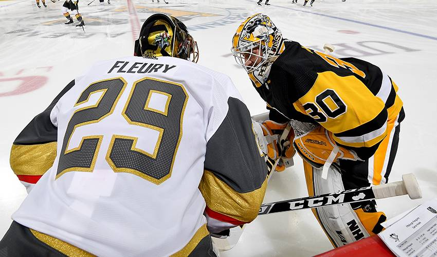 Penguins ruin Fleury's homecoming with 5-4 win over Vegas