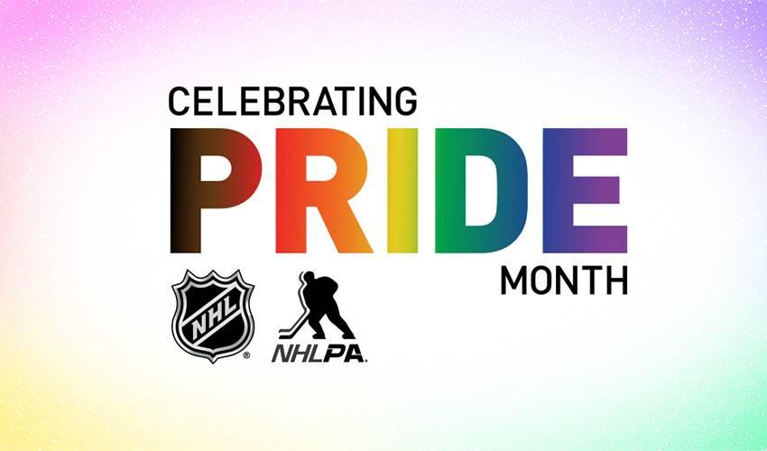 NHL and NHLPA celebrate Pride Month