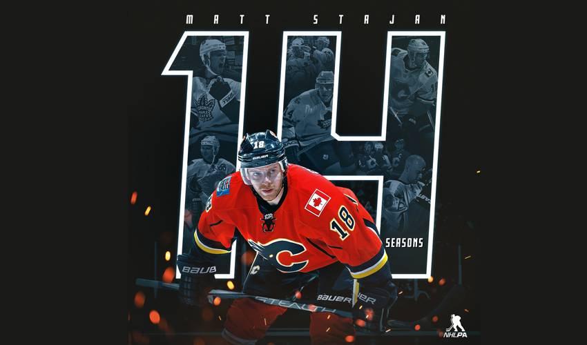 Matt Stajan announces retirement after 14 NHL seasons