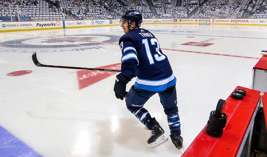 Brandon Tanev vital to Jets' postseason success