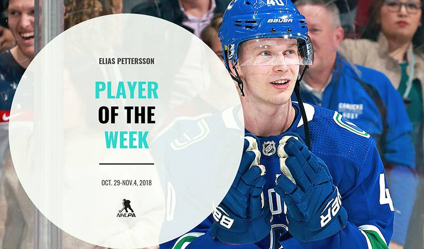 Player of the Week | Elias Pettersson