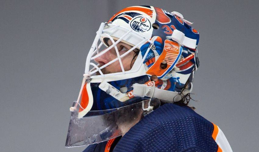 Edmonton Oilers' veteran goalie Mike Smith relishes another playoff chance