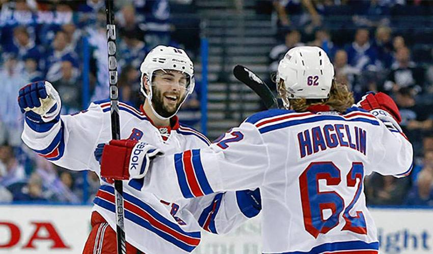 Brassard Leads The Blueshirts