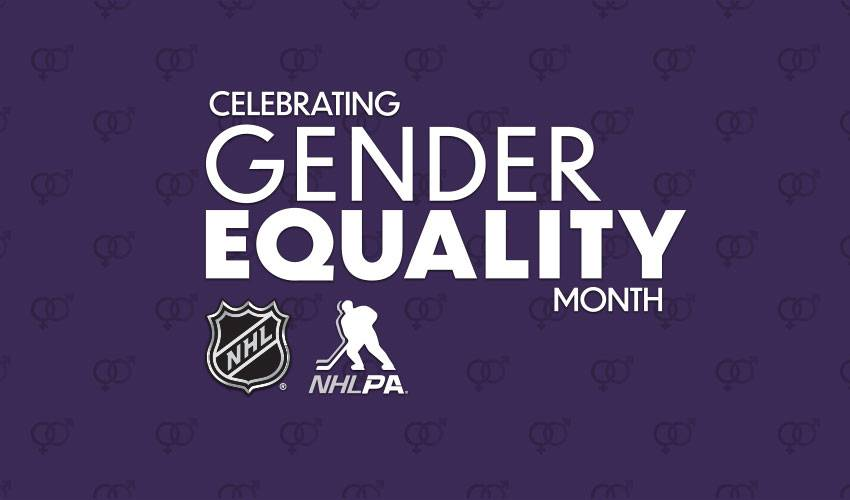 NHLPA, NHL celebrate Gender Equality Month; establish female hockey advisory committee