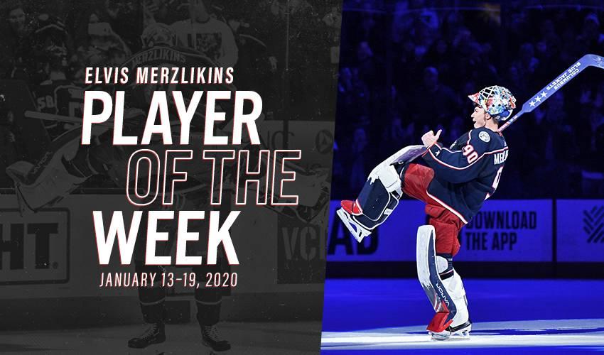Player of the Week | Elvis Merzlikins