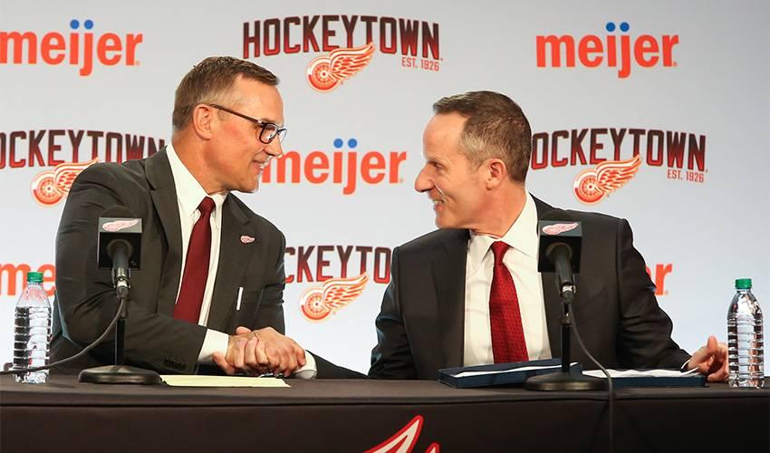 Red Wings name Steve Yzerman general manager