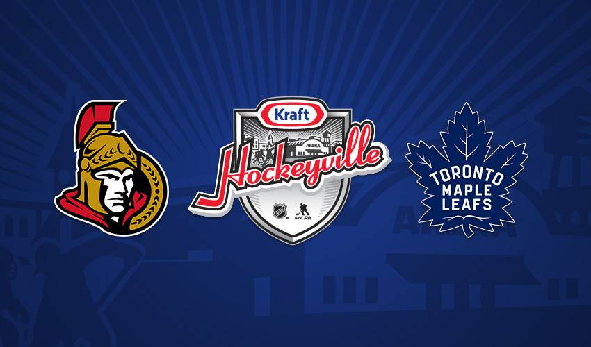 Maple Leafs and Senators to Face Off at Kraft Hockeyville 2018 Canada