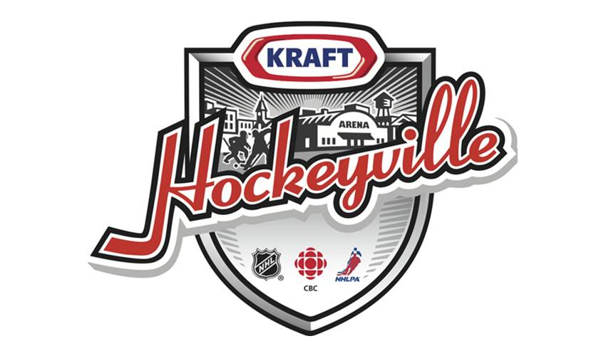 NHL ANNOUNCES PARTICIPATING TEAMS AND DATE FOR KRAFT HOCKEYVILLE HOST TOWN, STIRLING-RAWDON