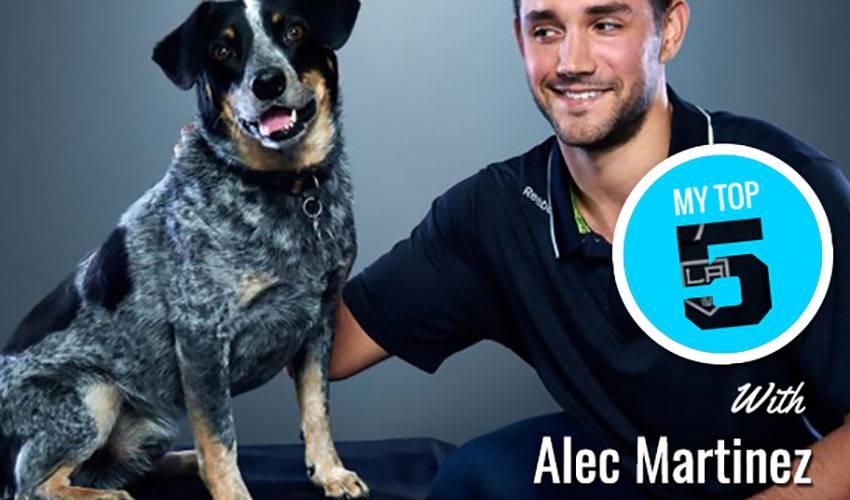 My Top 5 | Alec Martinez