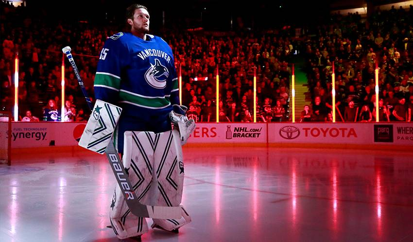 Canucks sign goalie Thatcher Demko to two-year extension worth $2.1 million