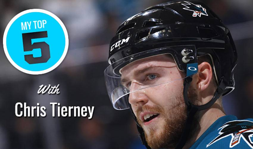 My Top 5 | Chris Tierney