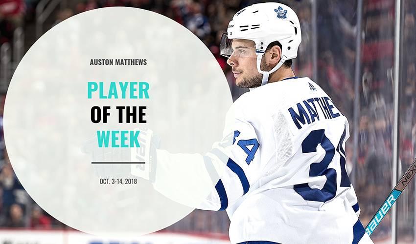 Player of the Week | Auston Matthews