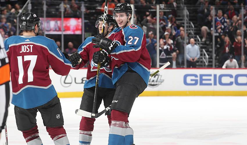 Graves making impression on Avs blue line