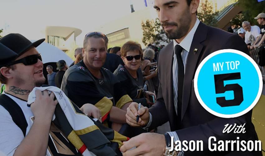 My Top 5 | Jason Garrison
