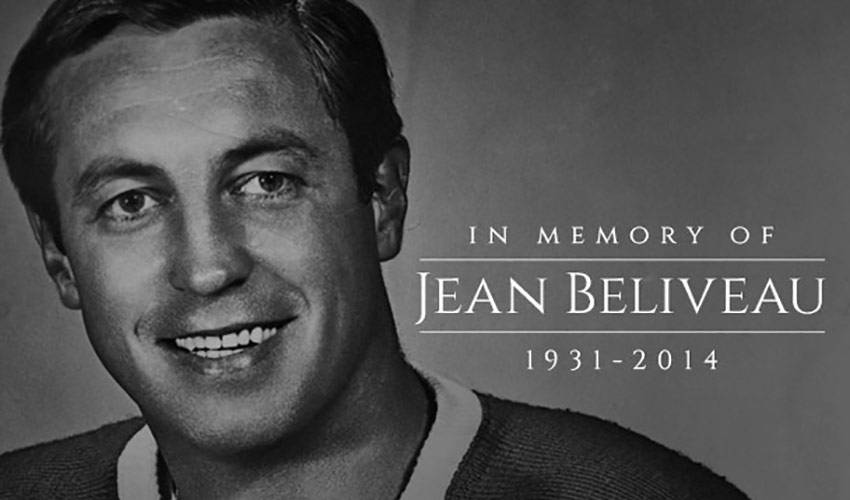 Hockey Great Jean Beliveau Passes Away