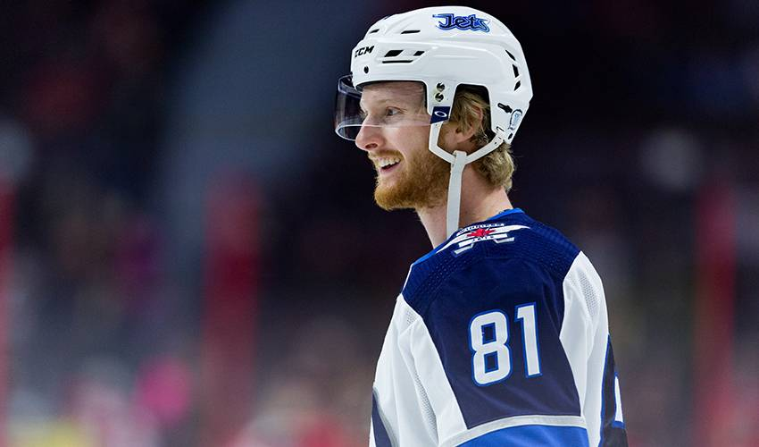 best service d945e 64a79 Rookie Kyle Connor to make playoff debut after stellar ...