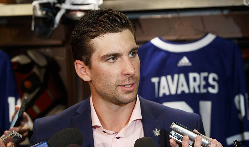 Going Home: Star free-agent centre John Tavares signs with Toronto Maple Leafs