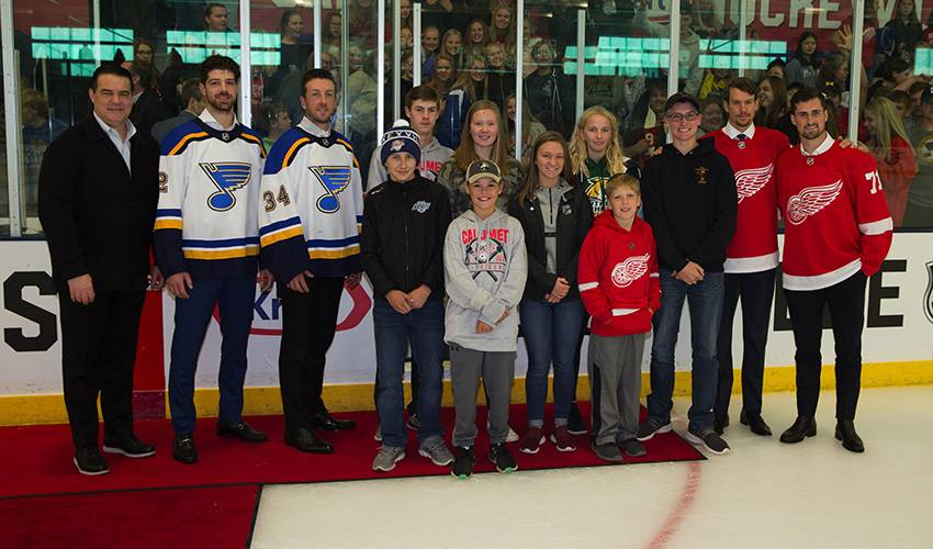 Calumet is 'Hockeytown' in Michigan for Kraft Hockeyville USA