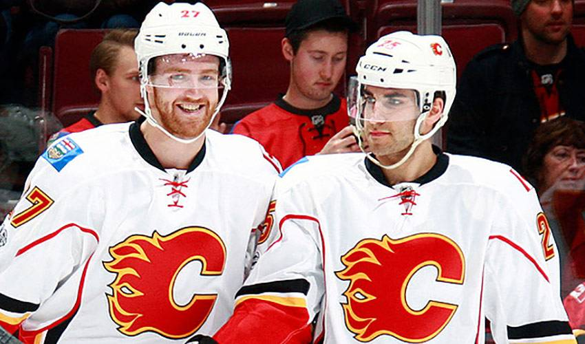 Hamilton brothers stick together in Calgary