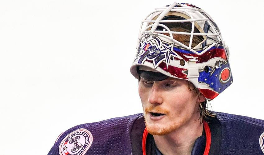 Blue Jackets sign goalie Korpisalo to 2-year deal