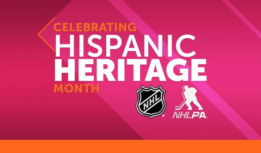 NHL and NHLPA celebrate Hispanic Heritage Month