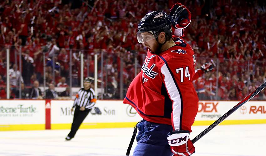 John Carlson thrives in playoff atmosphere