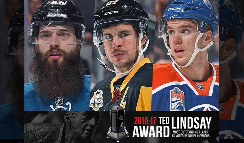NHLPA ANNOUNCES FINALISTS FOR 2016-17 TED LINDSAY AWARD