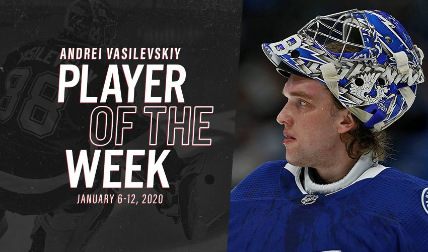 Player of the Week | Andrei Vasilevskiy