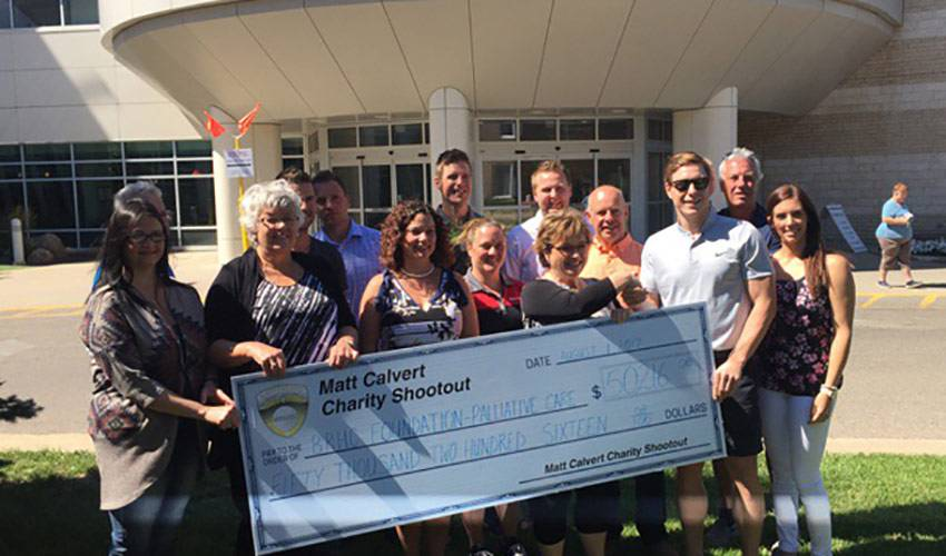 Calvert raises $50K for hometown hospital with inaugural event