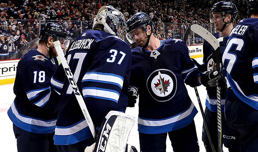 Hellebuyck's confidence contagious