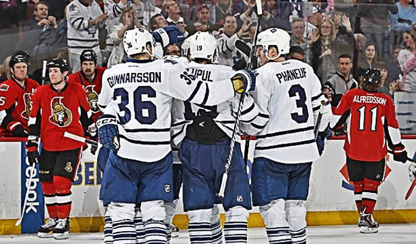 Toronto Maple Leafs Make Playoffs After 9 Year Drought