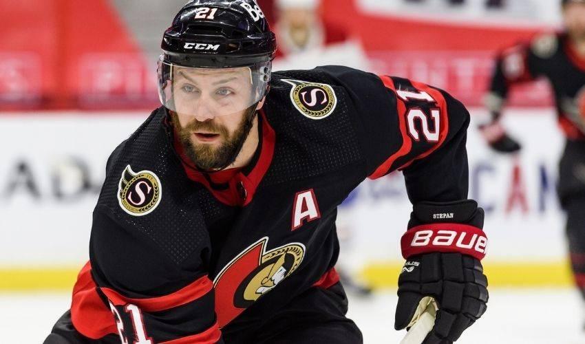 Senators forward Stepan will miss rest of the season after left shoulder surgery