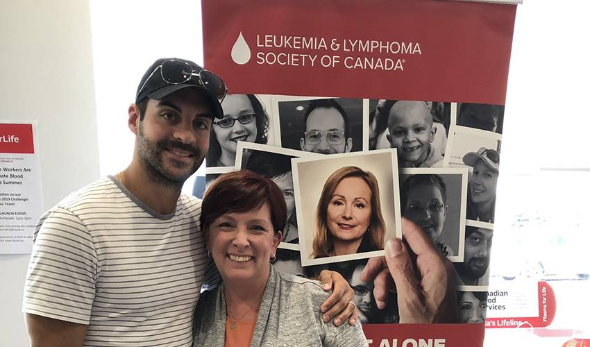 DeMelo bringing visibility to blood cancers, LLSC