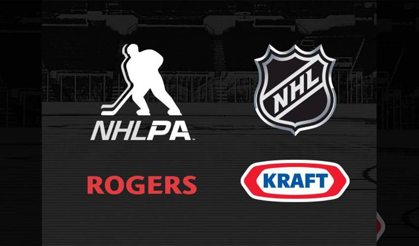 KRAFT CANADA, NHL, NHLPA AND SPORTSNET TO RE-BUILD CANADIAN ARENAS