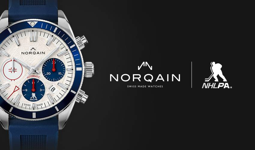 Norqain Celebrates NHLPA Partnership With Limited Edition Launch